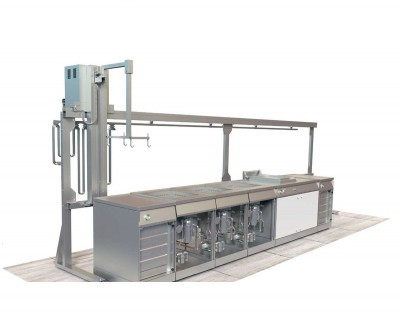 CLEANING SYSTEM USING ULTRASONIC