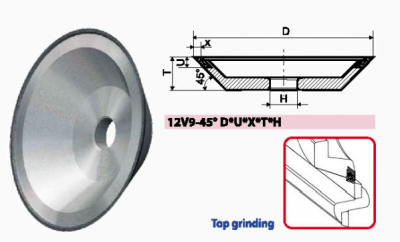 12V9-45_CUP GRINDING WHEELS