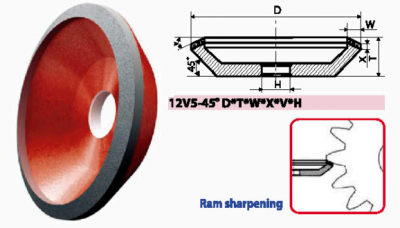12V5-45_CUP GRINDING WHEELS