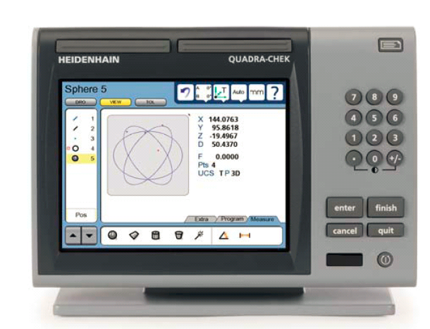 Heidenhain QUADRA CHECK ND 1400